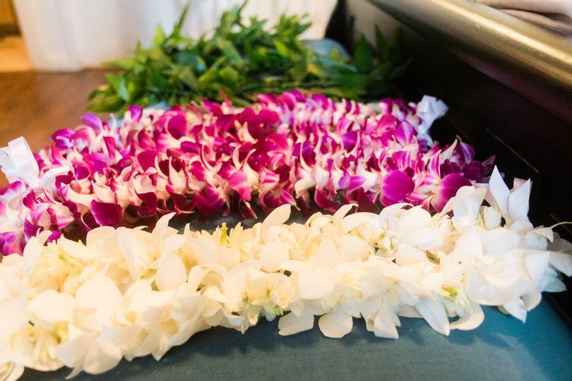 Hawaiian floral leis