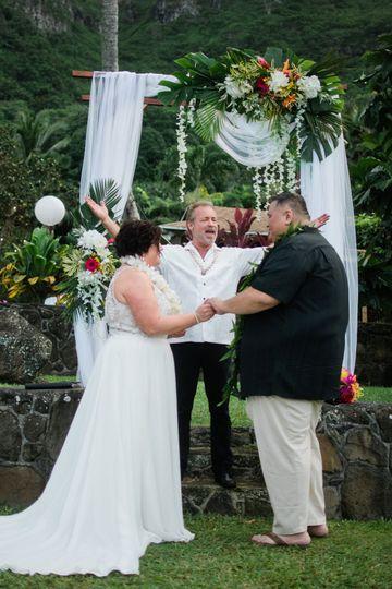 Oahu wedding-tropical