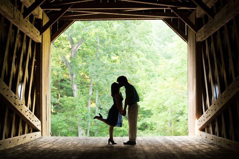 Silhouette kiss - Joe Cutalo Photography
