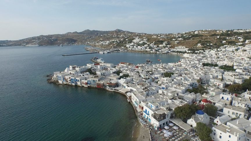 Aslanis Events | Mykonos - location