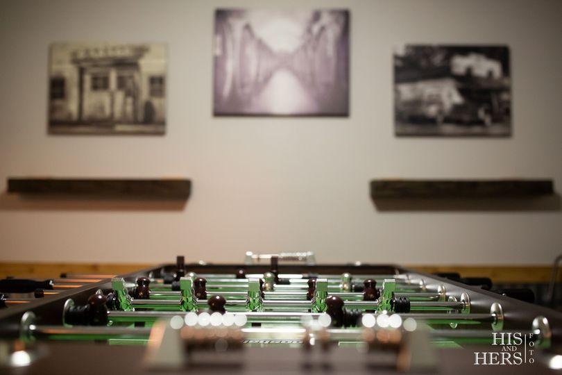 Groom's Game Room