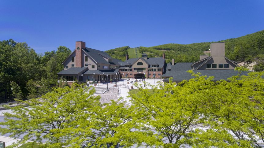 Outlook of whitetail resort
