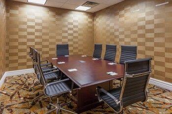 Intimate meeting room