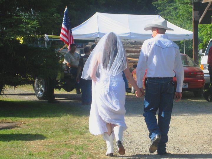 Tmx 1435882519123 Ashley  Jake Wed  Walking  Auburn, Washington wedding catering