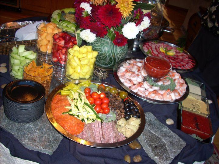 Tmx 1435882565830 Trays On Black W Rock Auburn, Washington wedding catering
