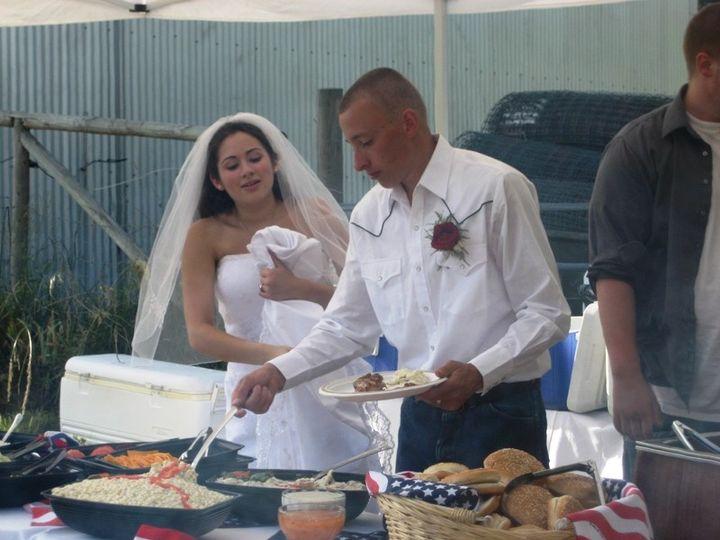 Tmx 1435883207758 Jake And Ashley Wed 7.02.09  9 Auburn, Washington wedding catering