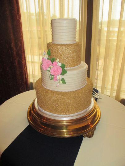 classic cakes - Wedding Cake - Jacksonville Beach, FL - WeddingWire