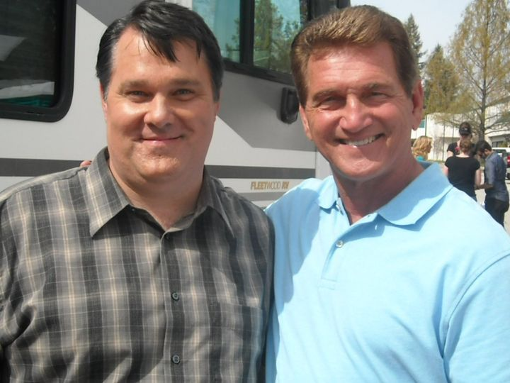 Starring in commercial with Super Bowl Champion QB Joe Theismann.
