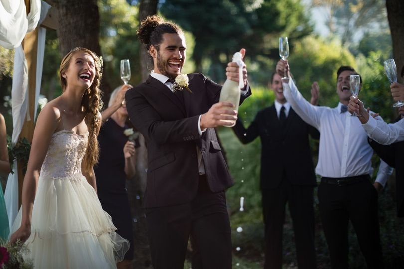 Popping the Cork - Moda Pictures