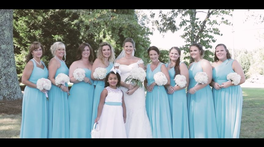 Donna and Bridesmaids