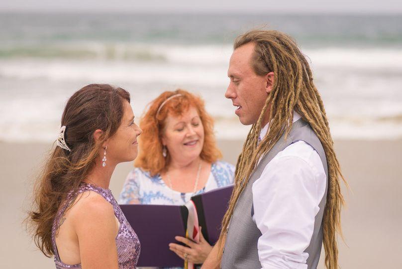 San Diego beach elopement