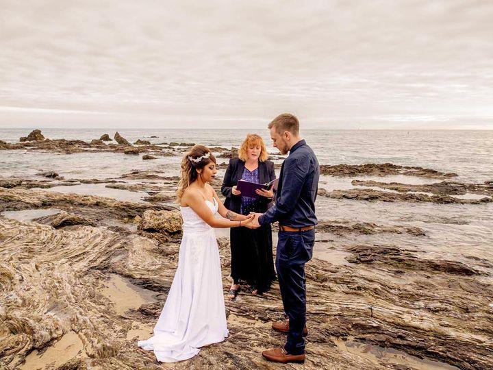 Tmx Alan And Heidi Laguna Beach Wedding Elopement R1 1736x906 51 1983873 159772197710469 Redlands, CA wedding officiant