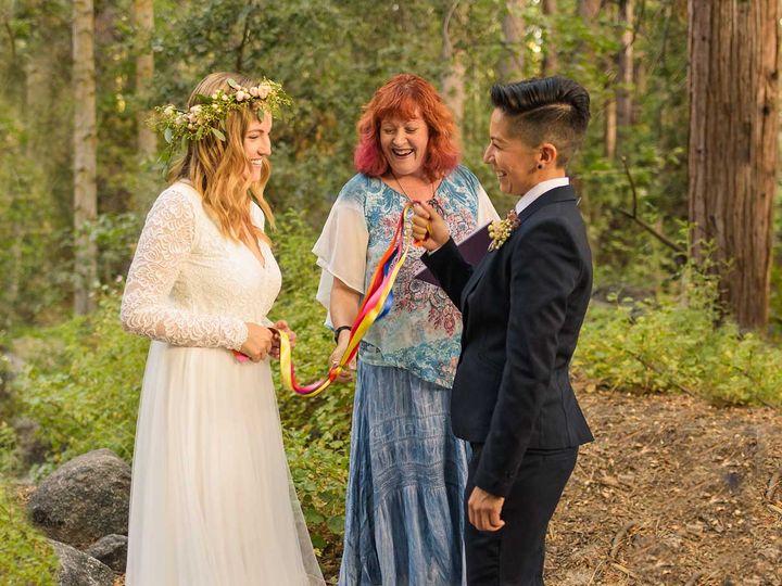 Tmx Alan And Heidi Lesbian Elopement Mountains 1736x906 51 1983873 159772207745285 Redlands, CA wedding officiant