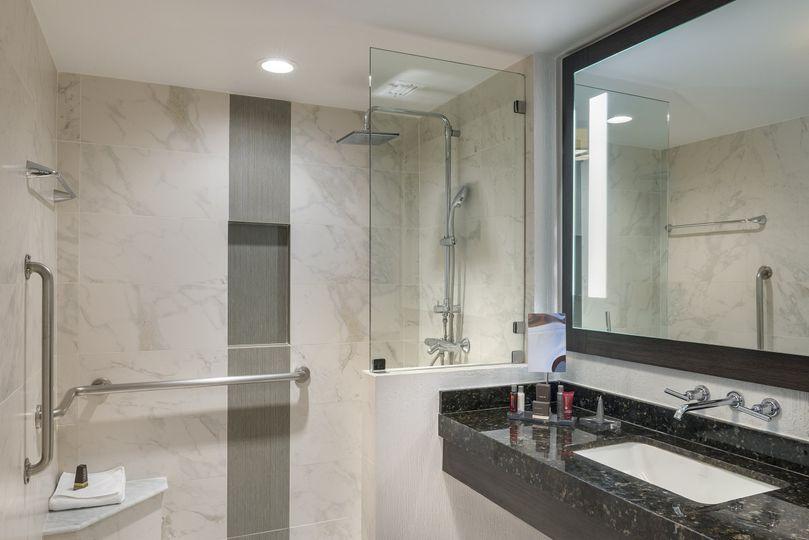 Renovated Guestroom Bathroom