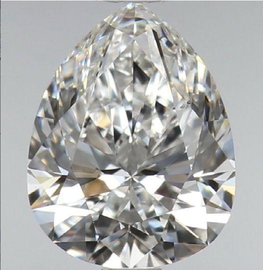 Pear Diamond 0.87Ct F VS2