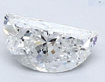 Half Moon Diamond 0.30Ct E SI2