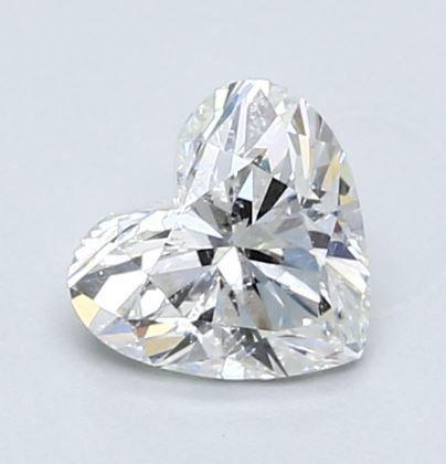 Heart Diamond 0.82Ct G I1