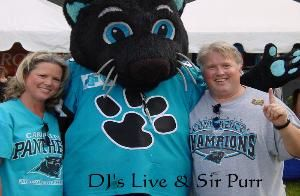 DJ's Live working with Sir Purr!