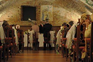 """Saying """"I do"""" in a medieval castle is a dream wedding for many a bride."""