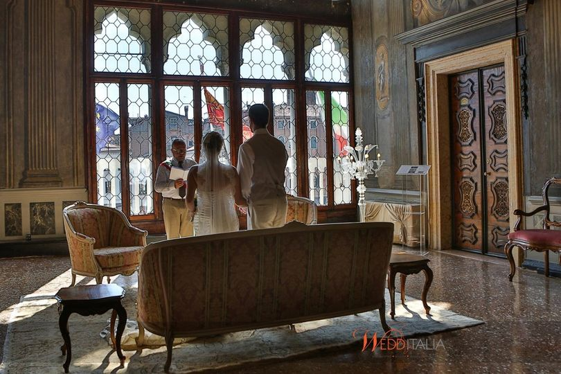 Venice offers many beautifully restored historic venues for your wedding ceremony.