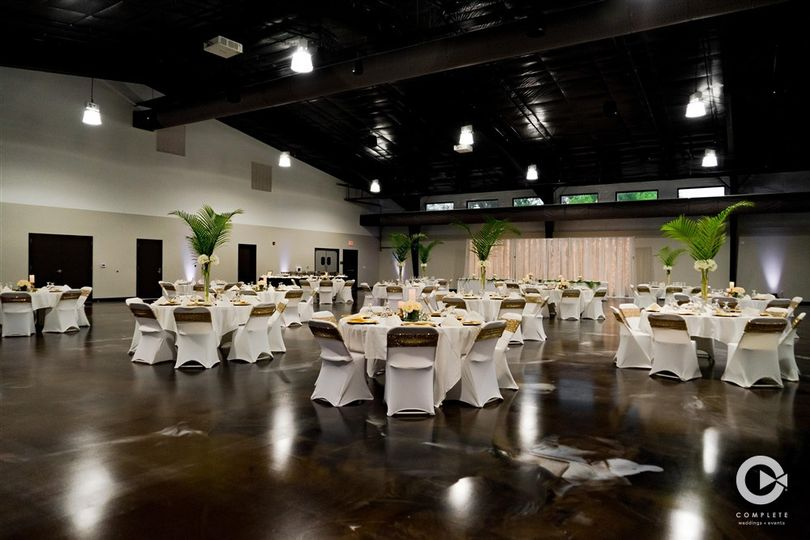 Reception in Events Center