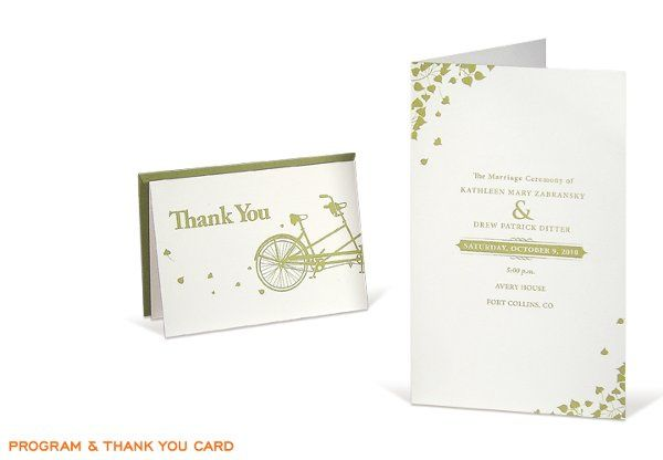 Tmx 1291483694094 Programthankyou Denver wedding invitation