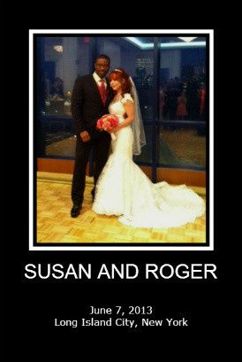 susan and roger portrait poster