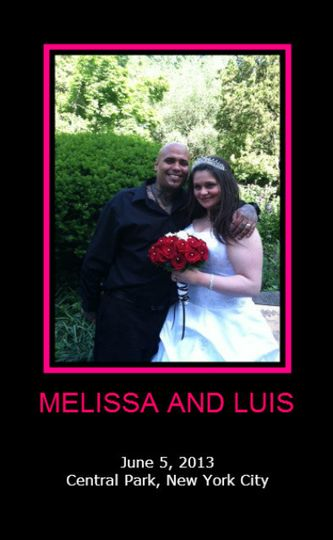 melissa and luis poster