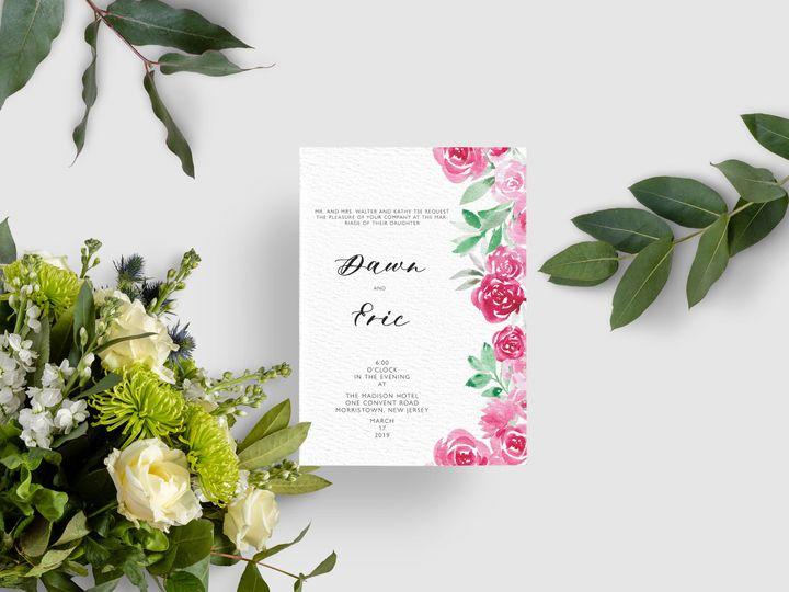 Tmx Invitation 5x7 Mockup 51 1979873 159542147696820 Abingdon, MD wedding invitation