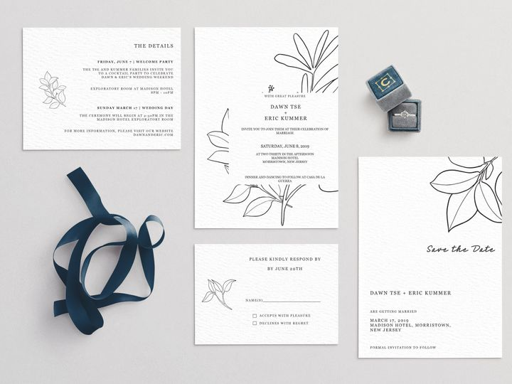 Tmx Modern Wedding Scene 51 1979873 159542151383023 Abingdon, MD wedding invitation