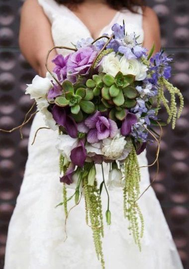 This bouquet was created for Arbor Day. The photos were taken at the Academy of Sciences in San...