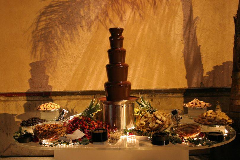 amor chocolate fountains