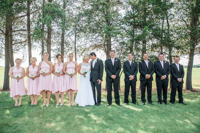 With the newlyweds | Erin Rae Photography