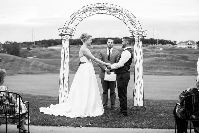Outdoor wedding | Erin Rae Photography