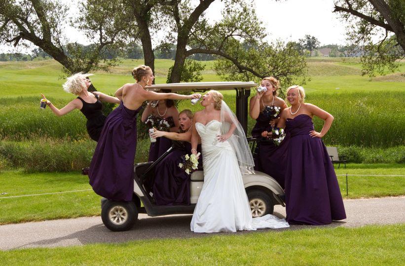 Bride and bridesmaids | Christina Johnson Photography