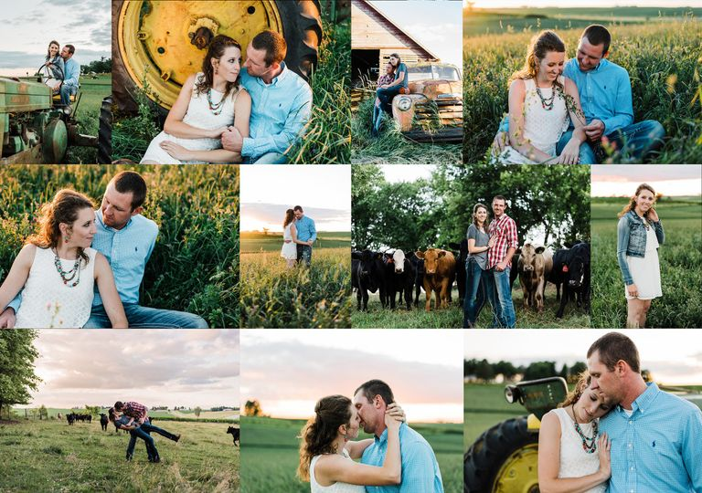 nicole corrine iowa wedding and engagement photogr
