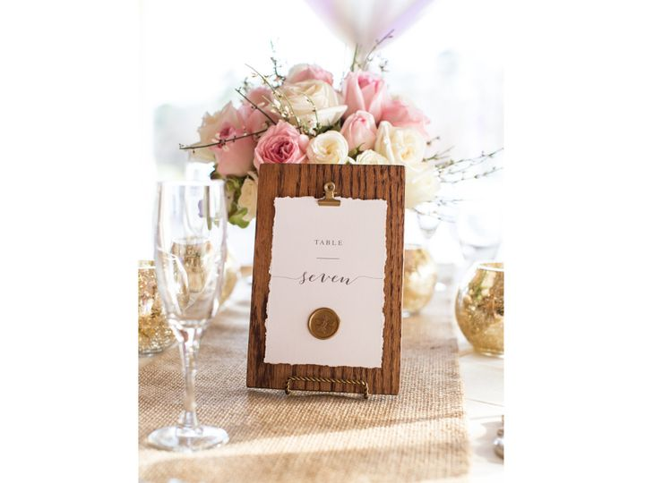 Tmx Table Number Wax Seal 01 51 1042973 Egg Harbor Township, NJ wedding invitation