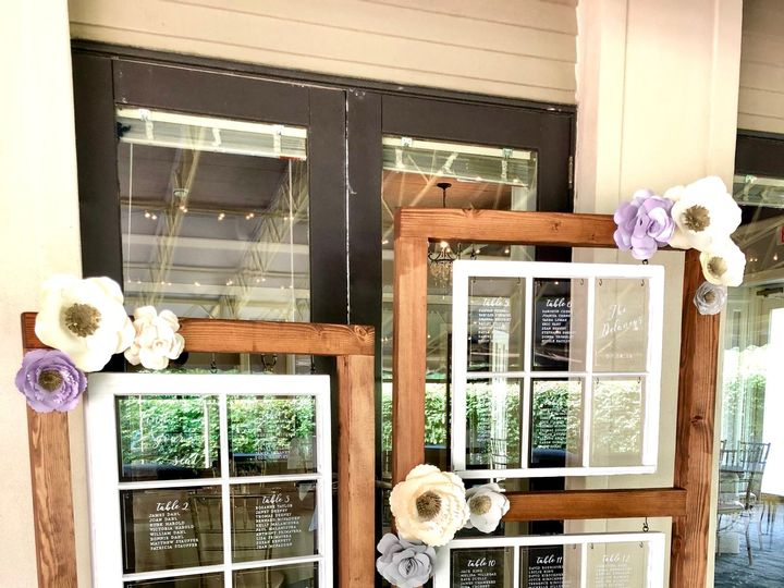 Tmx Vintage Window Frames 51 1042973 Egg Harbor Township, NJ wedding invitation