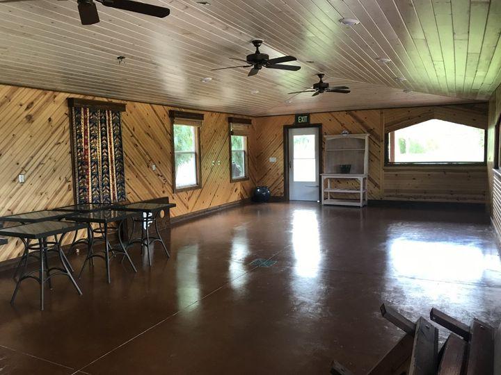 WG Pav.-newly painted floor