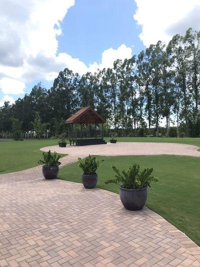 West Garden Lawn