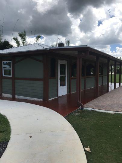 West Garden Pavilion