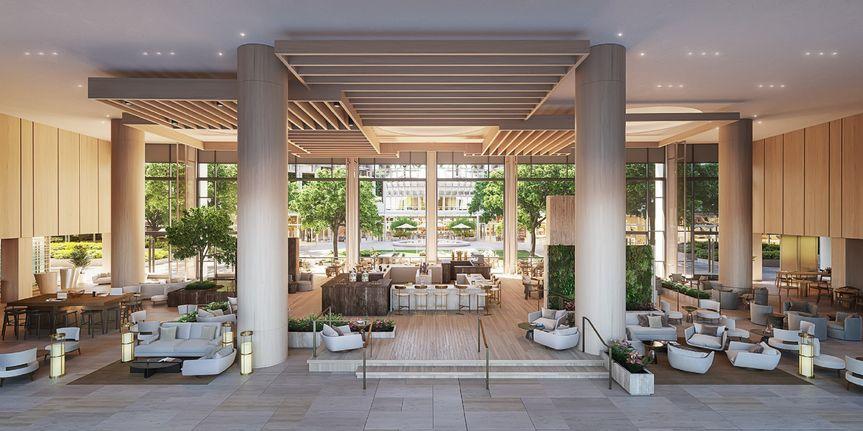 Fairmont Century Plaza Lobby