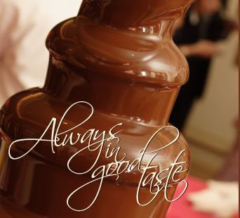 chocolate fountain 35