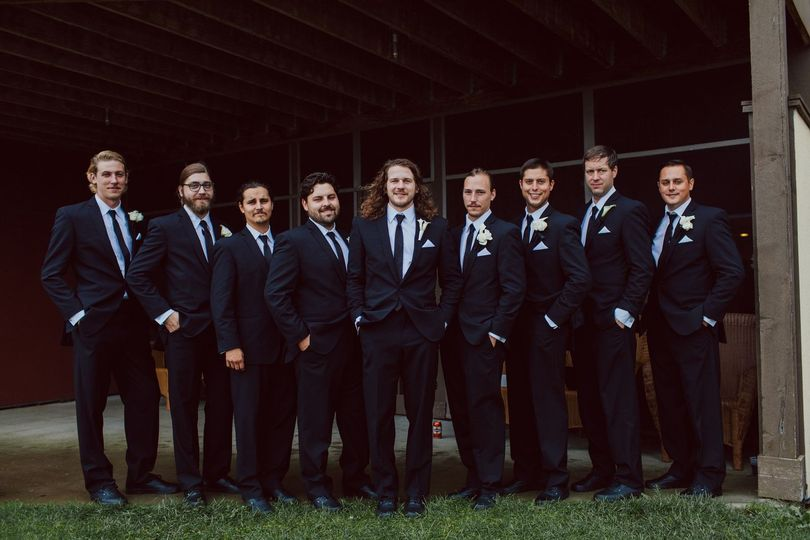 groomsmans photo