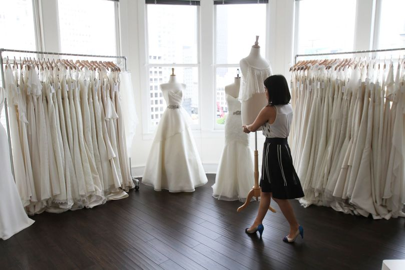CBS ranked Trish Lee in the Top 5 Bridal Shops In The Bay Area. Located on the top floor of the...