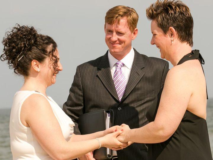 Tmx Casey Missy S Wedding The Ceremony On The Beach 0068 17goodone 51 1035973 V1 Cranford, NJ wedding officiant