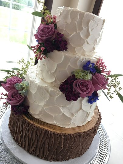 rustic buttercream with buttercream tree trunk 51 445973 v1