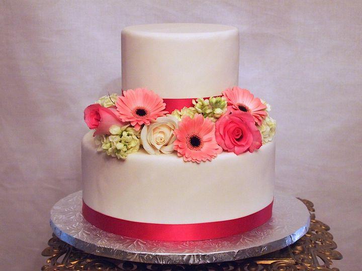 Tmx 1339098539387 SpringBouquetWeddingCake Sewell, New Jersey wedding cake