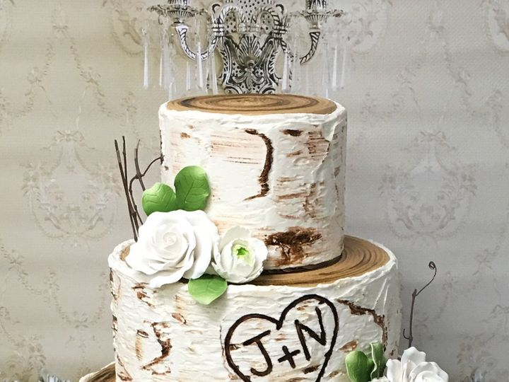 Tmx Buttercream Birch Tree Cake 51 445973 V1 Sewell, New Jersey wedding cake