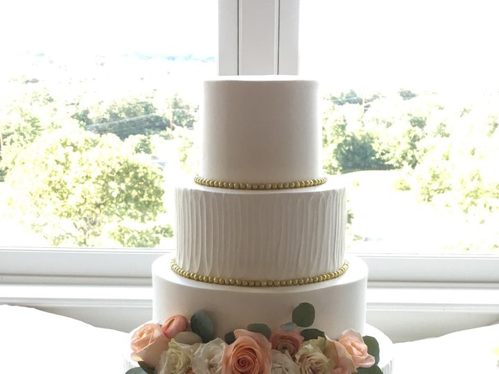 Tmx Buttercream Floral Wedding Cake 51 445973 V2 Sewell, New Jersey wedding cake